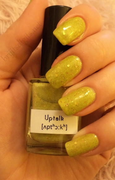 Uptalk (with top coat)