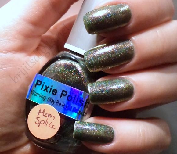 Pixie Polish - Memory Splice (Halogen)