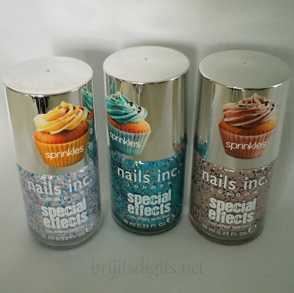 Nails Inc - Sprinkles - Sweets Way, Pudding Lane & Sugar House Lane