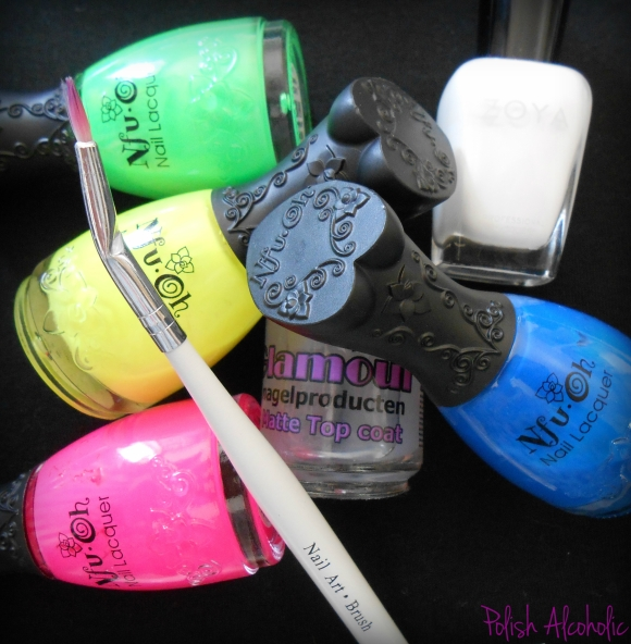 neon watercolor products