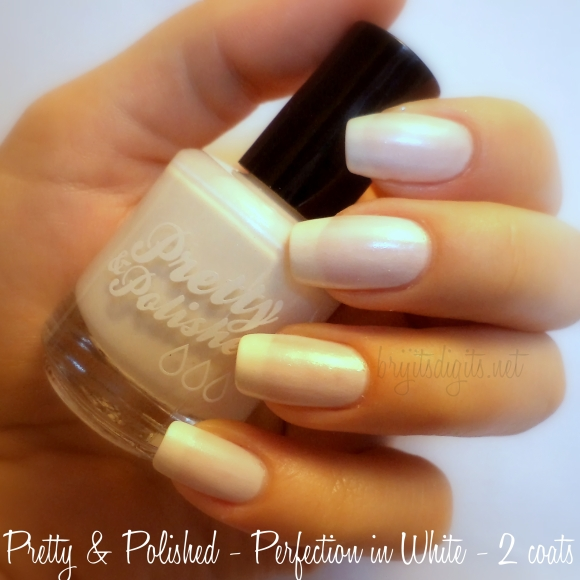 Pretty & Polished - Perfection in White - 2 coats