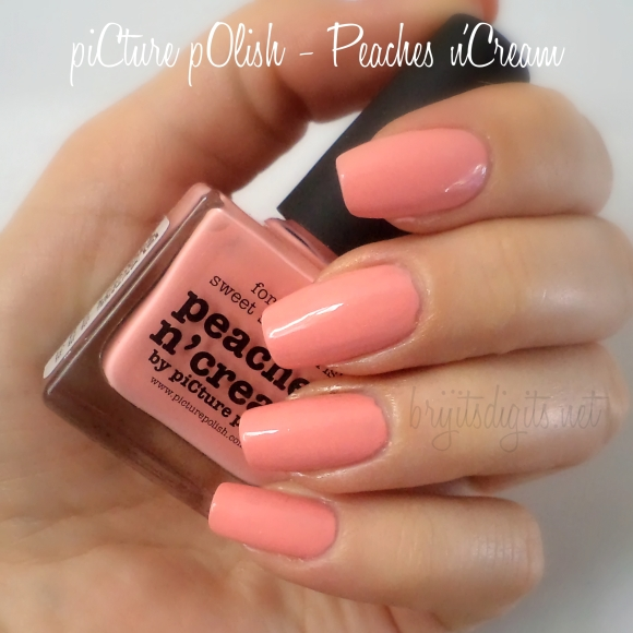 piCture pOlish - Peaches n'Cream