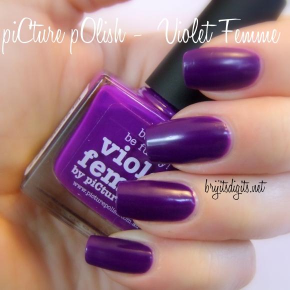 piCture pOlish -  Violet Femme