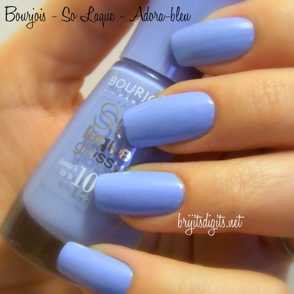 Bourjois - So Laque - Adora-bleu