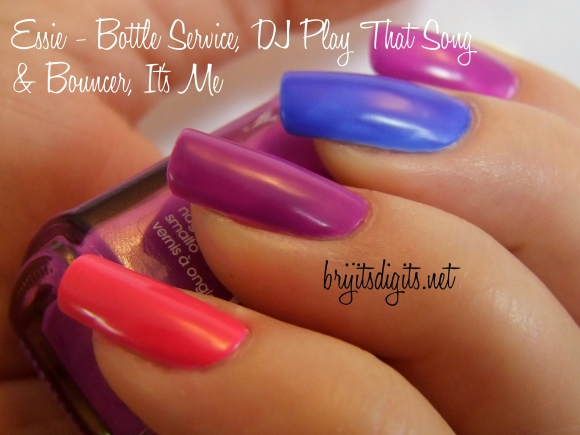 Essie - Bottle Service, DJ Play That Song & Bouncer, It's Me