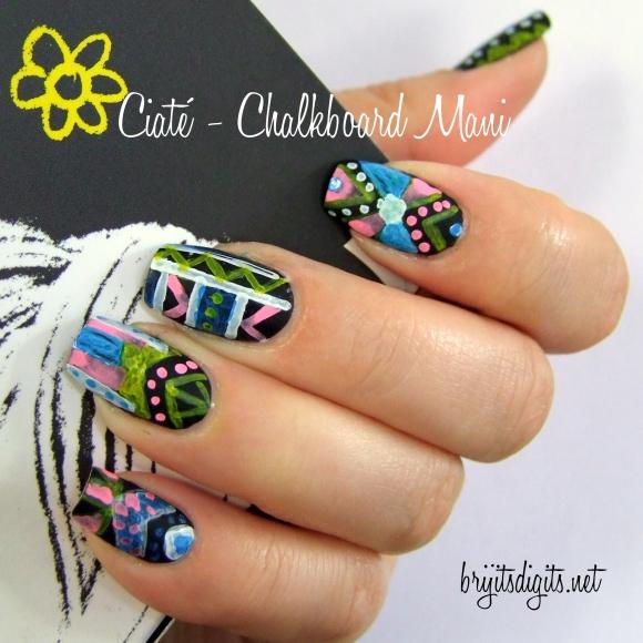 Ciaté - Chalkboard Mani