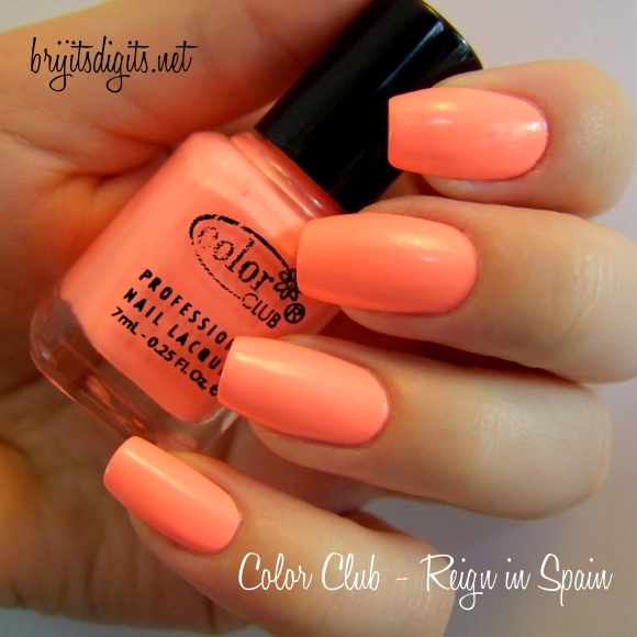 Color Club - Reign in Spain