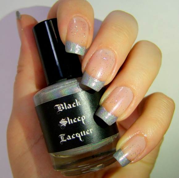 Holographic French - Black Sheep Lacquer