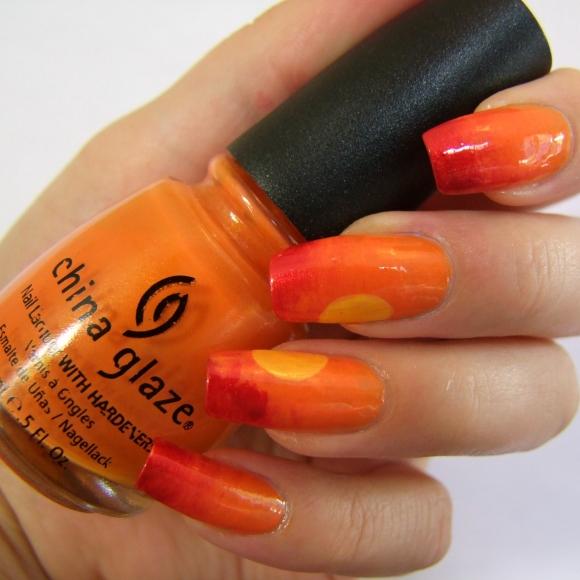 Nail Art Ideas Linkup - Sun