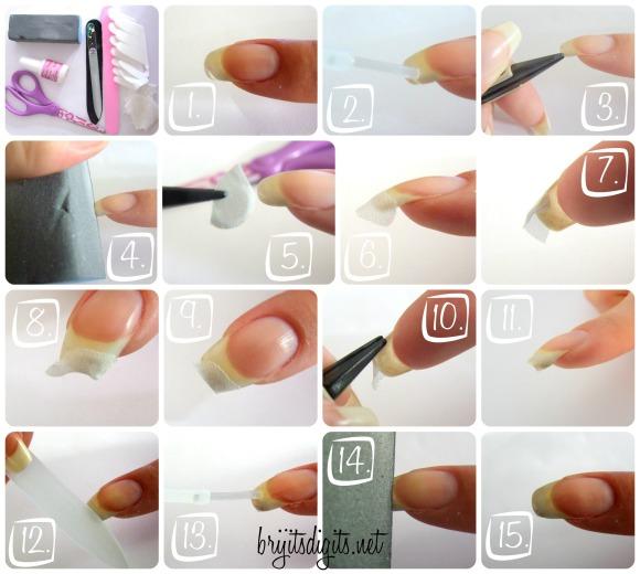 Nail Repair Collage