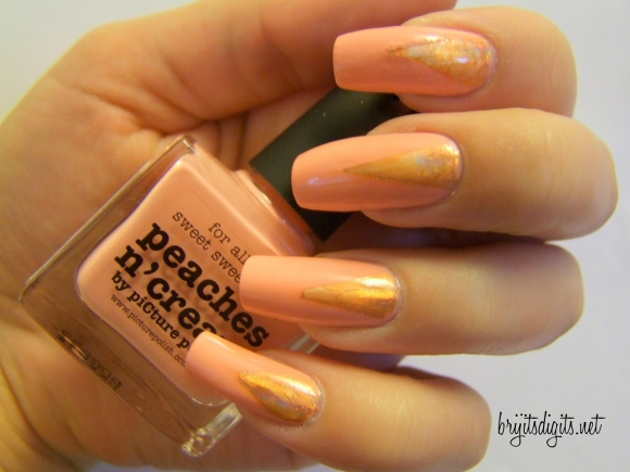 picture polish - peaches n cream