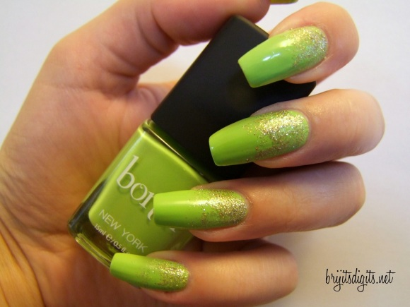 31DC2013 - Green Nails