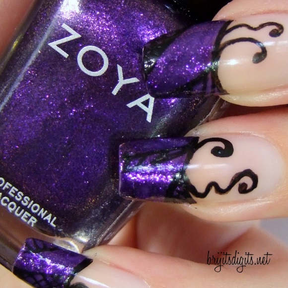 31DC2013 - Purple Nails - Zoya Mimi-001
