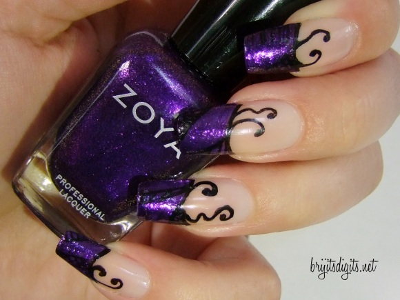 31DC2013 - Purple Nails - Zoya Mimi