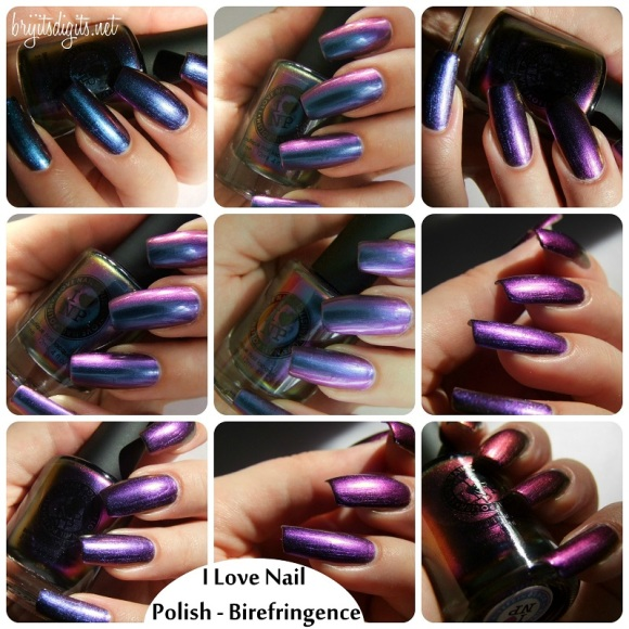 I Love Nail Polish Birefringence
