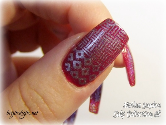 MoYou Suki Collection 08 Nail Art Stamping Plate-004