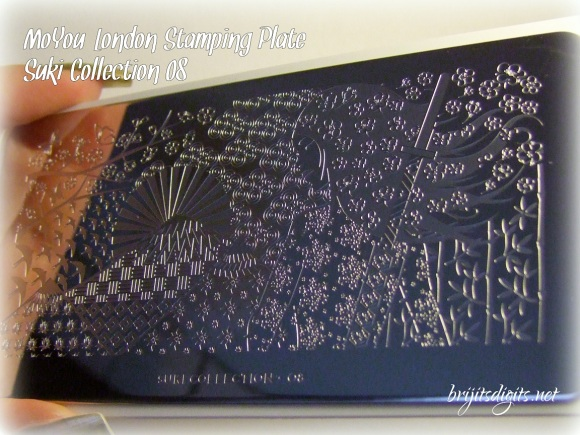 MoYou Suki Collection 08 Nail Art Stamping Plate
