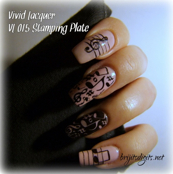 Vivid Lacquer VL 015 Stamping Plate-001