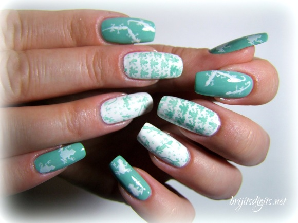 VL 012 Nail Art Stamping Plate-005