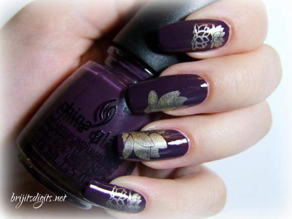 VL 012 Nail Art Stamping Plate-006