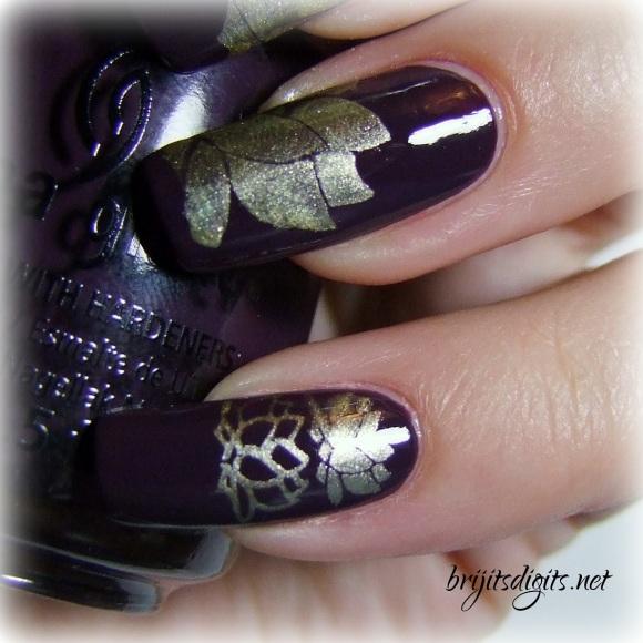 VL 012 Nail Art Stamping Plate-007