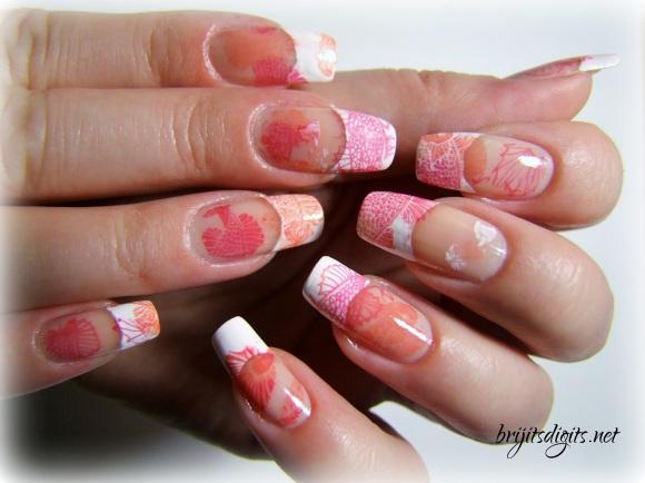 VL 012 Nail Art Stamping Plate