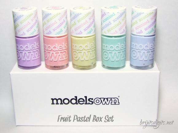 Models Own Fruit Pastel Box Set