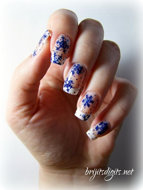 #Naillinkup - Snowflakes
