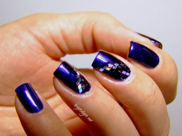 GOT Polish Challenge - Blue - Barry M Navy-001