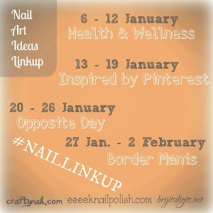 NAIL Linkup January Peachy