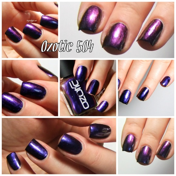 Ozotic 504 Nail Polish Collage