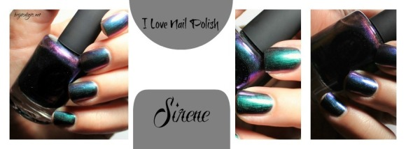 I Love Nail Polish - ILNP - Sirene - Collage