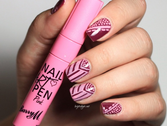 Butter London Queen Vic & Barry M Nail Art Pen  - Copy