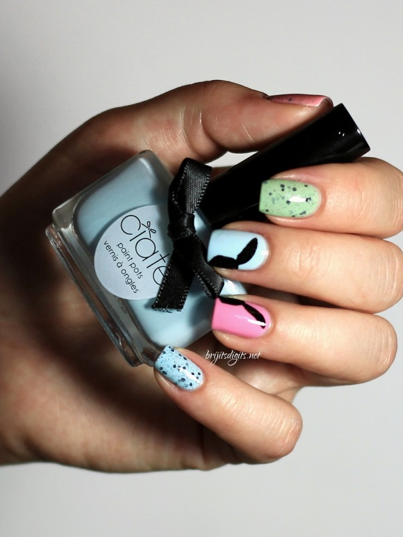 #Naillinkup Easter Nail Art - Ciaté Ferris Wheel  - Copy