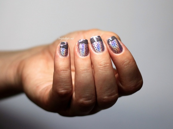 #Naillinkup - Rain Nail Art Dance Legend Teleportation  -003